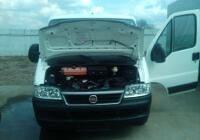 Установка оборудования для мониторинга на Fiat Ducato.